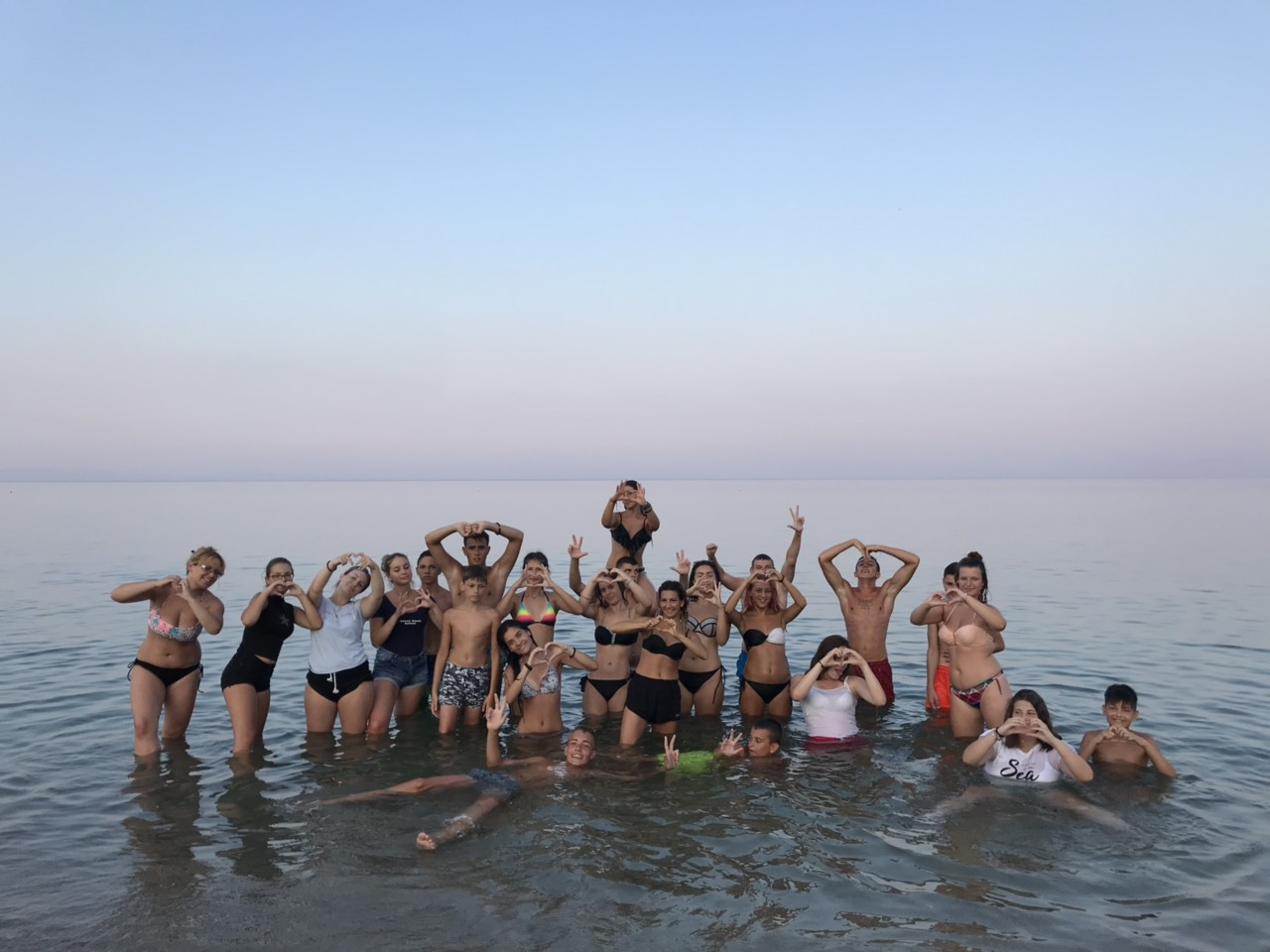 Letnji kamp na moru